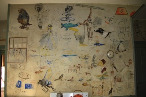 North wall of kitchen---shot by Judi Shunk 9/23/12
