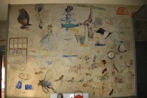 North wall of kitchen---shot by Judi Shunk 9/23/12