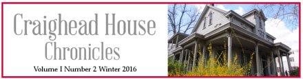 Newsletter Masthead Winter 2016